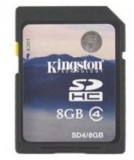 金士顿sd卡8g内存卡SDHC数码相机存储内存卡