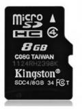 金士顿 Micro/SD 8g手机内存卡 8gb tf卡 高速class4