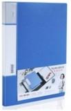 办公用品 文具 得力5411- 睿商系列PP文件夹 A4单强力夹+插袋