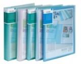 得力办公用品5120资料册 A4 20页透明资料册