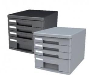 得力文具9772 四层文件柜(无锁)