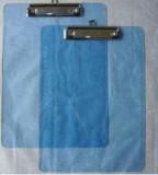 得力透明板夹(A4) 塑料板夹 书写板夹 速写板夹