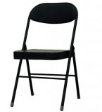 黑色折叠椅