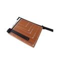 得力(DeLi)木质切纸机12″×10″ 8004 3公斤 裁纸刀
