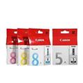 原装正品佳能CANON CLI-8BK 8C 8M 8Y 墨盒 ix4000 ix5000 8系列