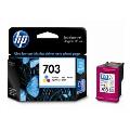 惠普原装HP 703墨盒703号CD888AA彩色墨盒F735 K109a K209 D730