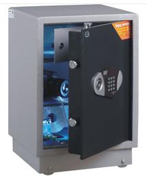 全能保险柜办公保险箱 内带LED灯照明 家用保险柜TGG-5840B 特惠商品